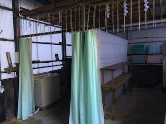 蛇滝更衣室