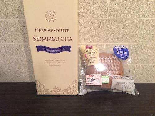 コンブチャパンケーキ