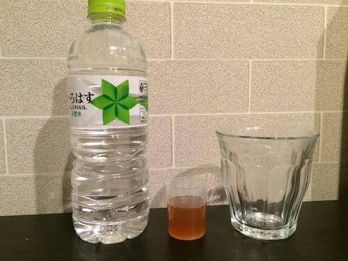 コンブチャ水