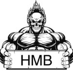 39873211 - vector illustration, outline a bodybuilder, a fiery skull on a white background